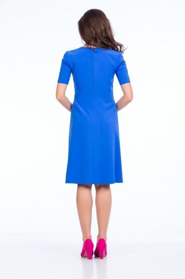 Rochie office Sense Anabella albastru