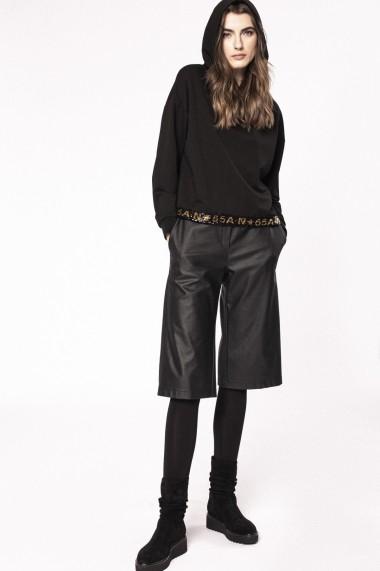 Pantaloni drepti NISSA P11147 Negru
