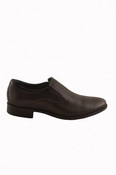 Pantofi pentru barbati marca Mopiel negri din piele
