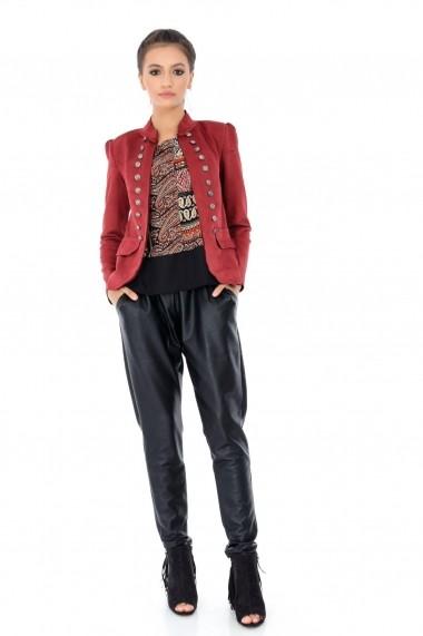 Jacheta Roh Boutique rust, ROH, stil militar - JR387 rust