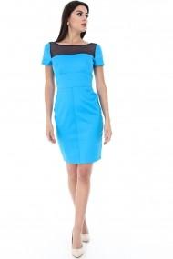 Rochie midi Roh Boutique - CLD518 Turcoaz
