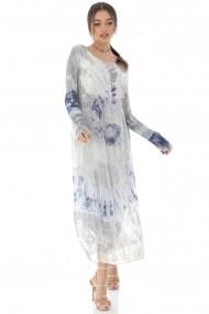 Rochie de zi Roh Boutique maxi, cu paiete - DR3721 multicolora