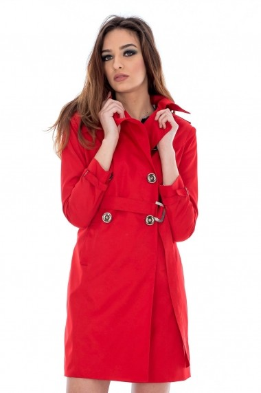 Trench Roh Boutique clasic - JR231 rosu