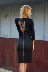 Rochie marca The ITem neagra cu funda