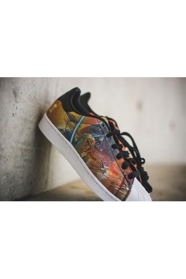 Pantofi sport pentru femei Adidas Superstar Star Wars J