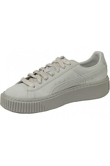 Pantofi sport pentru femei Puma Basket Platform Wn 363313-01