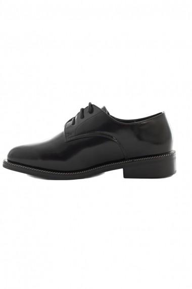 Pantofi Rammi negri cu sireturi