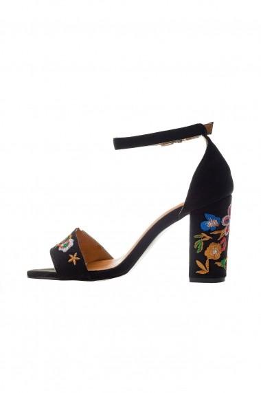 Sandale Rammi cu insertii florale