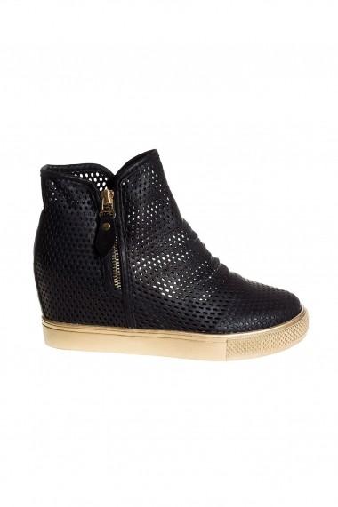 Pantofi sport casual Rammi RMM-261-black Negru