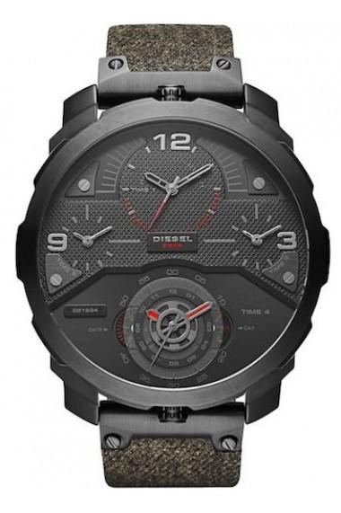Ceas DIESEL WATCH Mod. MACHINUS 4 TIMEZONES 55mm