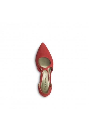 Pantofi cu toc TAMARIS GGA411 rosu