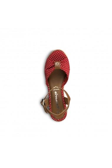 Sandale cu platforma TAMARIS GGA528 rosu
