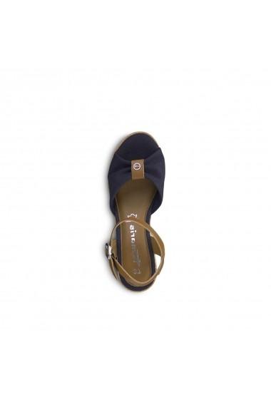Sandale cu platforma TAMARIS GGA529 bleumarin