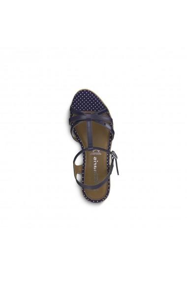 Sandale cu platforma TAMARIS GGA542 bleumarin
