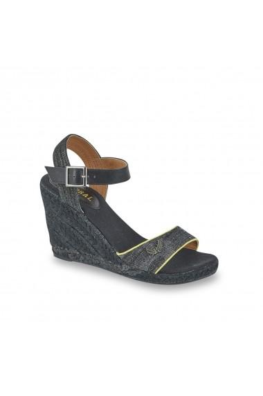 Sandale cu platforma KAPORAL GGL662 Gri