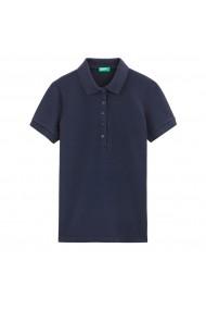 Tricou Polo BENETTON GGD920 bleumarin