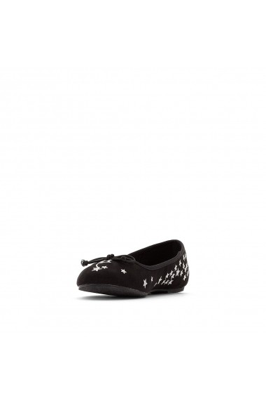 Pantofi cu toc MADEMOISELLE R GEY945-black Negru