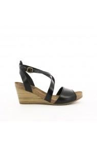 Sandale cu platforma KICKERS GGB333 negru