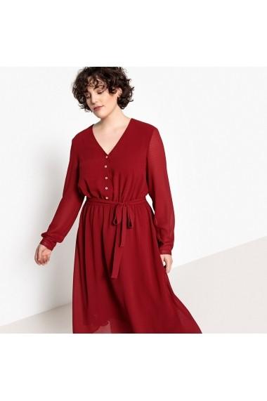 Rochie CASTALUNA GEX166-dark_red Rosu