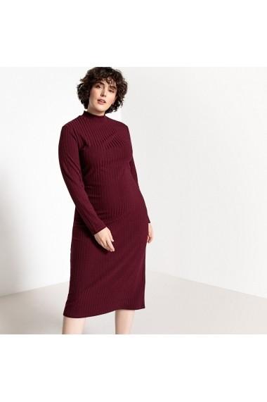 Rochie CASTALUNA GFH522-burgundy Bordo