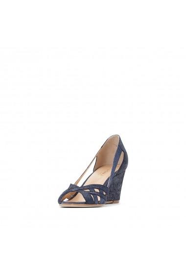 Pantofi cu toc JONAK GEV442 bleumarin