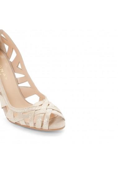 Pantofi cu toc JONAK GGP698 auriu