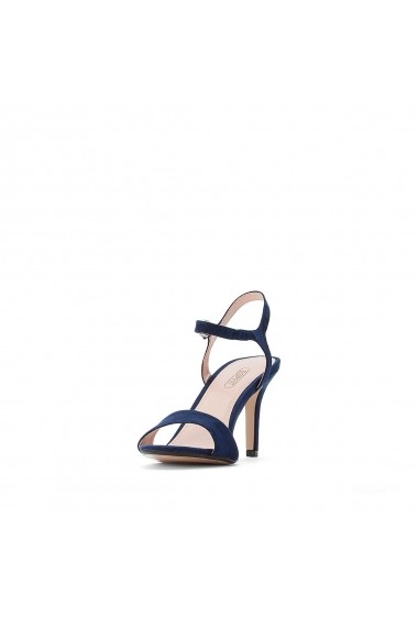 Sandale cu toc ESPRIT GGJ203 bleumarin