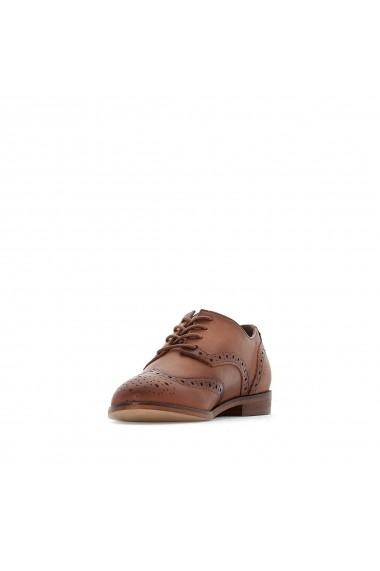 Pantofi La Redoute Collections GFA377-camel Maro
