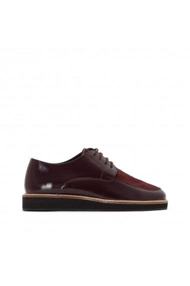 Pantofi La Redoute Collections GFE486 bordo