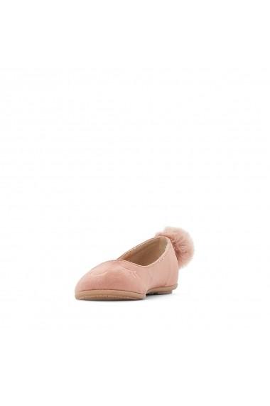 Pantofi cu toc La Redoute Collections GEY049-dusty_pink Roz
