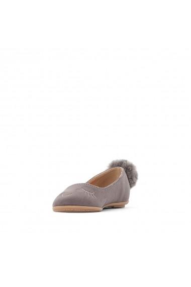 Pantofi cu toc La Redoute Collections GEY049-grey Gri