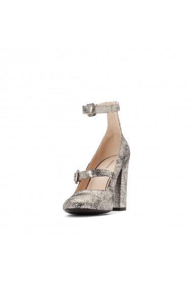 Pantofi cu toc La Redoute Collections GES475-gold_coloured Auriu