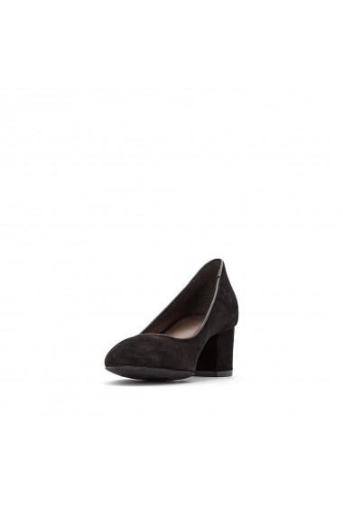 Pantofi cu toc La Redoute Collections GFF115-black Negru