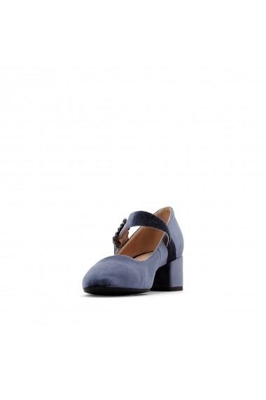 Pantofi cu toc La Redoute Collections GER231-grey Gri