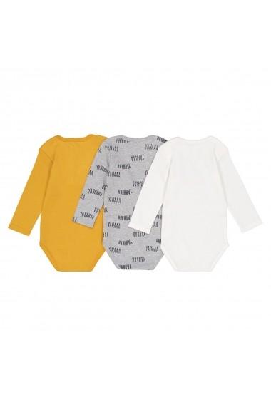 Body La Redoute Collections GEU028-Ecru_gris_jaune Multicolor