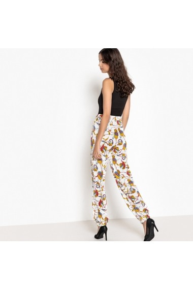 Pantaloni La Redoute Collections GFA362-floral_print Multicolor