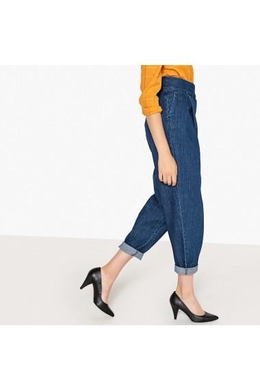 Pantaloni La Redoute Collections GFA578-untreated_blue Bleumarin - els