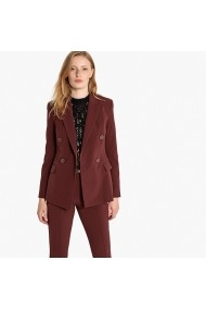 La Redoute Collections Blézer LRD-GFB020-chocolate_brown Barna