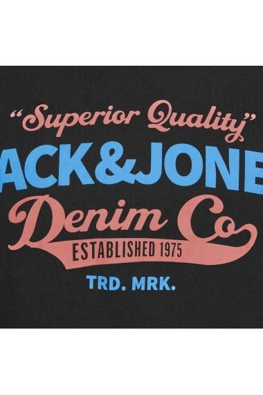 Tricou JACK & JONES GGA157 negru
