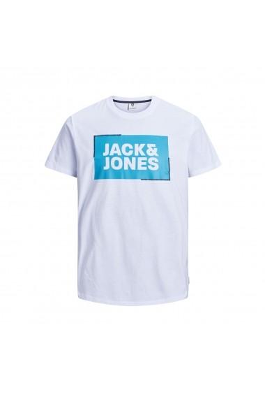 Tricou JACK & JONES GGC780 alb