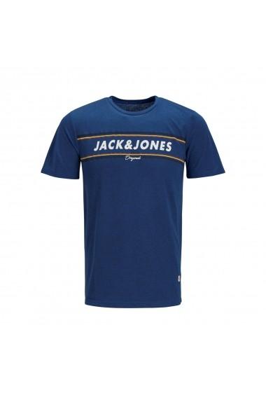 Tricou JACK & JONES GGF878 albastru