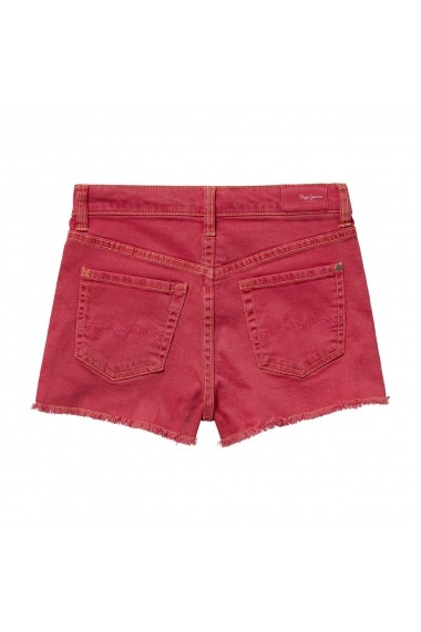 Pantaloni scurti PEPE JEANS GGG762 rosu