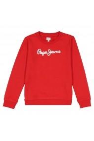 Pepe Jeans Kapucnis sportfelső LRD-GFG113-red Piros