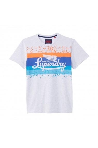 Tricou SUPERDRY GFO157 gri
