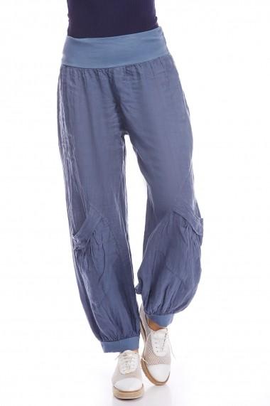 Pantaloni Strada madison-jean albastru - els