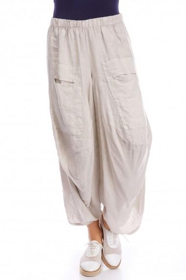 Pantaloni Strada rivka-beige bej - els