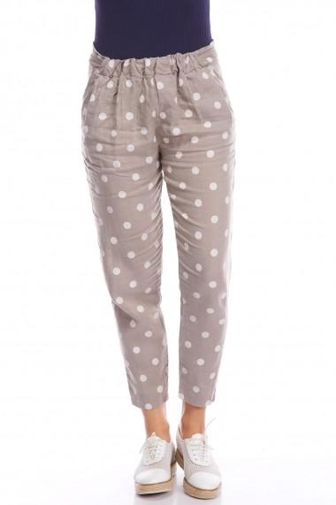 Pantaloni Strada audrey-taupe gri