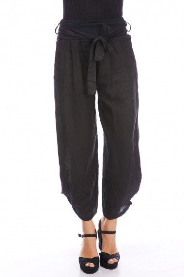 Pantaloni Strada alison-noir negru