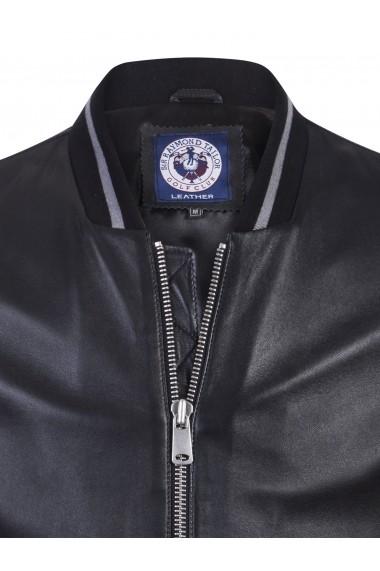 Jacheta din piele Sir Raymond Tailor SI3522895 Negru