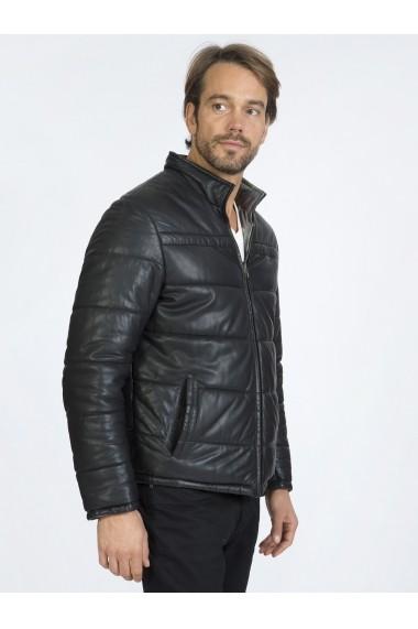 Jacheta din piele Sir Raymond Tailor SI3549846 Negru